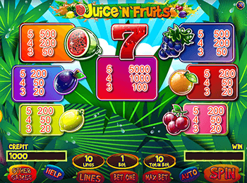 Juice'N'Fruits - скриншот 6